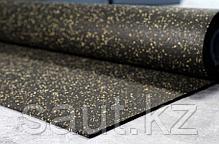 Праймпол - рулонное покрытие черное с цветными вкраплениями, фото 2