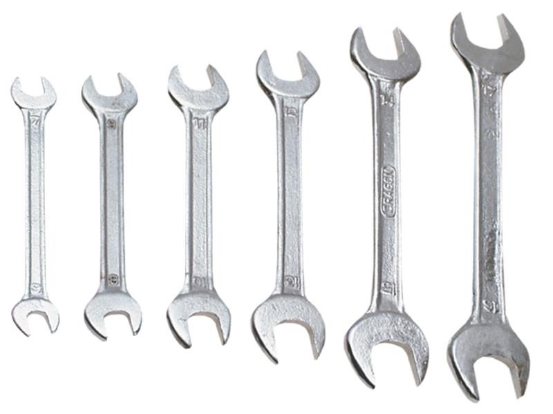 Рожковые ключи 24x27 мм