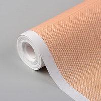 Масштабно-координатная бумага, 60 г/кв.м, 87 см, 10 м, цвет оранжевый