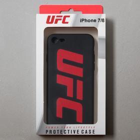 Чехол клип-кейс Red Line UFC для iPhone 7/8/SE 2020, черный - фото 4