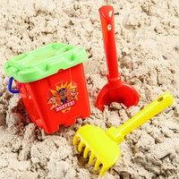 Набор для игры с песком ведро-крепость малое, ситечко, совок Paw Patrol 'ВПЕРЕД КОМАНДА'