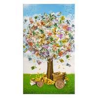 Конверт для денег 'Универсальный' ручная работа, денежное дерево