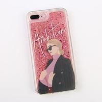 Чехол для телефона iPhone 7,8 PLUS с блёстками внутри Ambition, 7.7 x 15.8 см