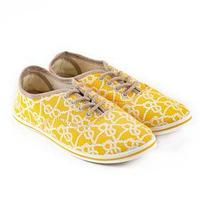 Кеды женские, цвет жёлтый, размер 39