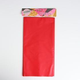 Скатерть 'Праздничный стол', 137х183, цвет красный - фото 2