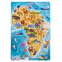 Пазл в рамке 'Африка', 53 элемента