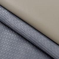 Пэчворк декоративная кожа 'Серая гамма', 50 х 50 см.