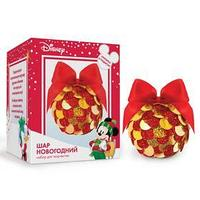 Набор для творчества 'Новогодний шар' Микки Маус с пайетками