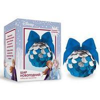 Набор для творчества 'Новогодний шар' Холодное сердце с пайетками