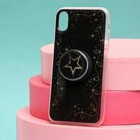 Чехол с попсокетом для iPhone XR 'Звезда', 7,6 x 15,1 см