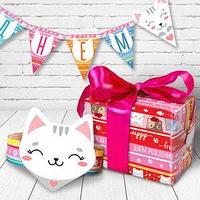 Набор для проведения праздника 'День рождения' упаковочная бумага