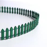 Миниатюра кукольная 'Забор', размер 90x3 см, цвет зелёный