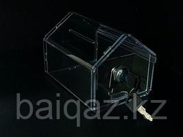 Ящик для пожертвований (домик) 150х110х105 Ш/В/Г (мм)