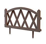 Заборчик декоративный «Штакетник» L-300см (5 секций 60×37см) АП 113