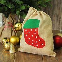 Карнавальный мешок 'Новогодний носок'