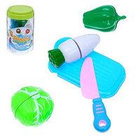 Набор продуктов для нарезки 'Овощной микс', в банке, цвета МИКС