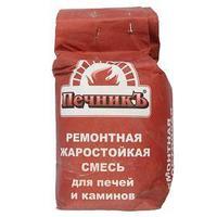 Ремонтная жаростойкая смесь для печей и каминов 'Печникъ' 3,0 кг