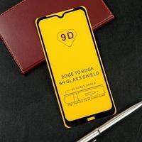 Защитное стекло 9D LuazON для Xiaomi Redmi Note 8t (6.34'), полный клей, 0.33 мм