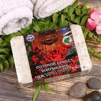 Соляной брикет с алтайскими травами 'Боярышник', 1,35 кг 'Добропаровъ'