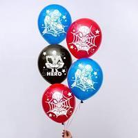 Воздушные шары 'Super hero', Человек-паук (набор 5 шт) 12 дюйм