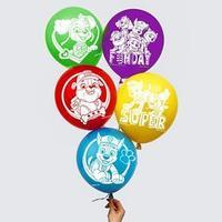 Воздушные шары 'Super', Щенячий патруль (набор 5 шт) 12 дюйм