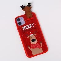 Чехол для телефона iPhone 11 'Счастливого рождества', с персонажем, 7,6 х 15,1 см