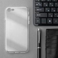 Чехол Innovation, для iPhone 7/8/SE 2020, силиконовый, прозрачный