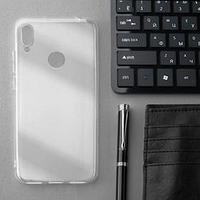 Чехол Innovation, для Huawei Honor 8A/Y6(2019), силиконовый, прозрачный