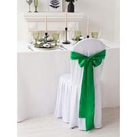 Декор для стула, цв.бирюзовый, 14*275 см, 100 п/э