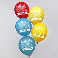 Воздушные шары 'С Днем Рождения!', Щенячий патруль 12 дюйм (набор 5 шт)