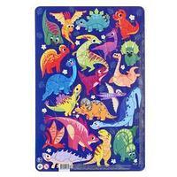 Пазл в рамке 'Динозавры', 53 элемента