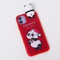 Чехол для телефона iPhone 11 'Радостный панда', с персонажем, 7,6 х 15,1 см