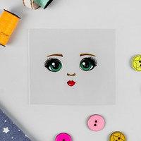 Термонаклейка для декорирования текстильных изделий 'Кукла Оля', 6,5х6,3 см