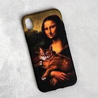 Чехол для телефона iPhone XR 'Мона Лиза', 7,6 х 15,1 см
