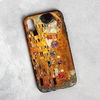 Чехол для телефона iPhone XR 'Поцелуй', 7,6 х 15,1 см