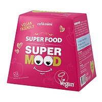 Cafe Mimi Подарочный набор Super Fruit (гель для душа +крем для рук +шар для ванны)
