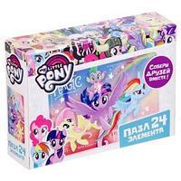 Мини-пазл My Little Pony, 24 элемента, МИКС