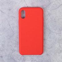 Чехол LuazON силиконовый IPhone X, красный