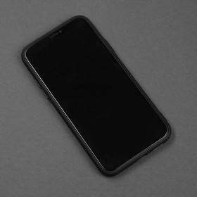 Чехол для телефона Matt case для Apple Iphone X/Xs, матовый, черный - фото 1