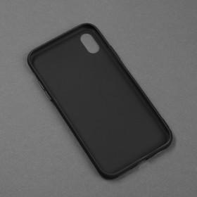 Чехол для телефона Matt case для Apple Iphone X/Xs, матовый, черный - фото 3