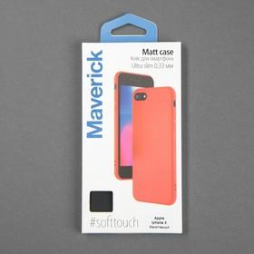Чехол для телефона Matt case для Apple Iphone X/Xs, матовый, черный - фото 4