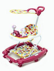 Tomix First Step Ходунки детские, розовый