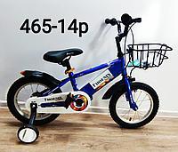 Велосипед Phoenix синий оригинал детский с холостым ходом 14 размер