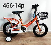 Велосипед Phoenix оранжевый оригинал детский с холостым ходом 14 размер