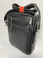 """Мужская деловая сумка через плечо""""Cantlor"""".Высота 21 см, ширина 18 см, глубина 6 см., фото 1"""