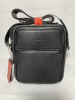 """Мужская сумка через плечо""""Cantlor"""". Высота 20 см, ширина 18 см, глубина 6 см., фото 1"""