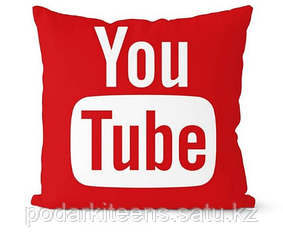 Подушка декоративная YouTube