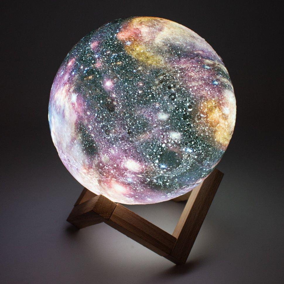 3D Светильник-ночник Луна Galaxy