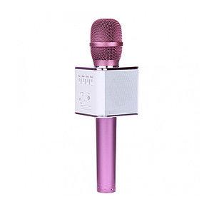 Беспроводной микрофон Q9 Розовый