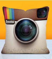 Подушка декоративная Instagram